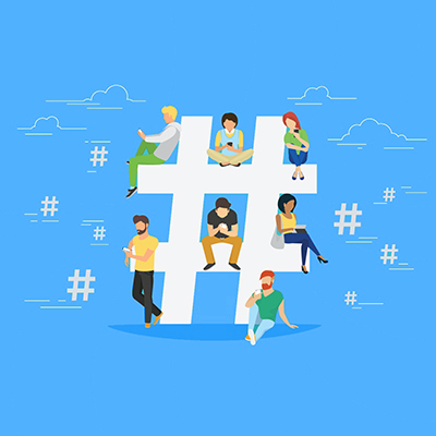 Growing social media tip-hashtag-game